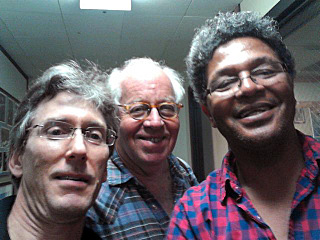 Scott and Tom with Harry Richard Hall of KCSM